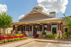 Apartments in Katy, TX - Exterior Leasing Office & Clubhouse